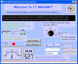 CT webHMI screen