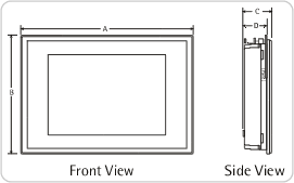 iPanel Dimensions